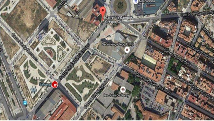 128474 - Solar Urbano en venta en Valencia / Campos Crespo