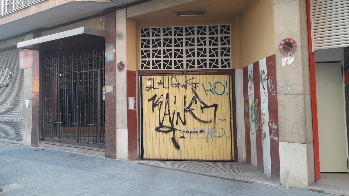 194975 - Parking Coche en venta en Valencia / Garaje en Barrio de Arrancapins